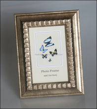 imitate timber photo frame classical embossing colored wood picture frame frame