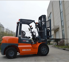 HECHA fork lift, mini4t diesel forklift CPCD40, automatic fork lift truck with Japan engine