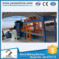 High quality JW-QTY4-18 block machinery for small business