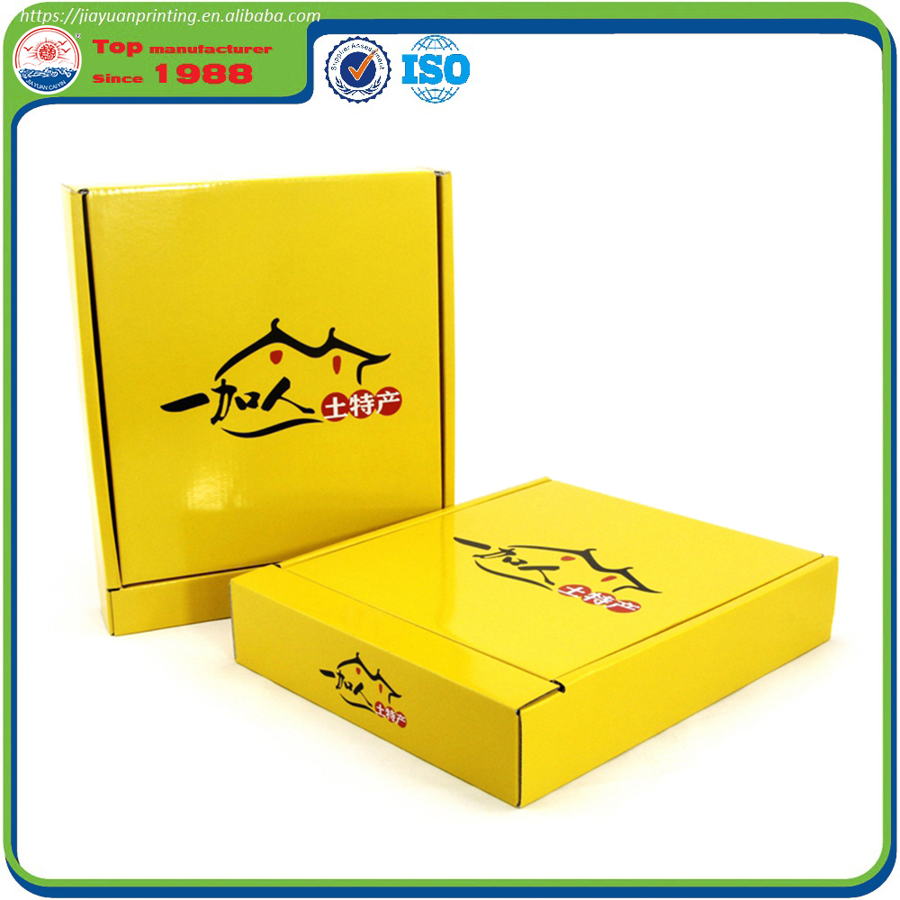 Food paper box packaging with custom printing logo