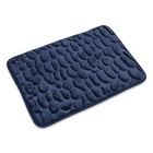 Massage product High water absorption cloth Stone bath mat