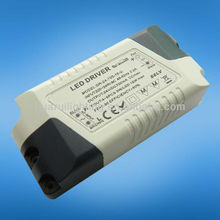new style mini constant current led power supply 350ma 700ma 12v 24v 18w with ETL/ROHS for led lighting