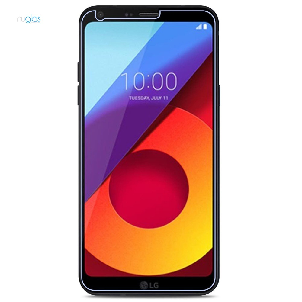 low MOQ 9h hardness anti-fingerprint tempered glass film screen protector guard for lg q6