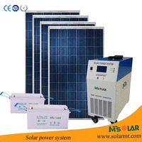 1kw 2kw 3kw solar panel power energy system with off grid solar kit for farm,agriculture