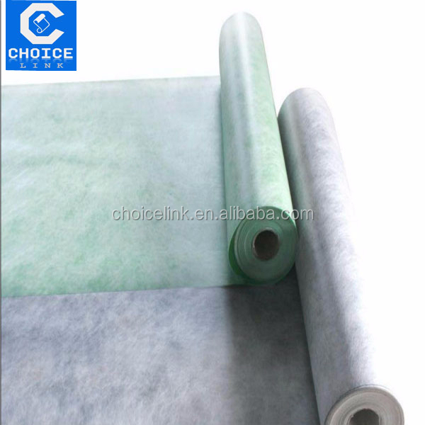 PE/PP/PET composite waterproof underlayment/membrane shower