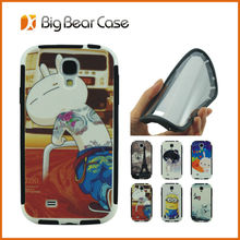 Custom design with screen protector cartoon mobile phone cover