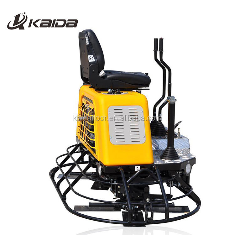 Ride on type concrete power trowel cement floor finishing machine
