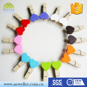 Cheap high quality wood peg with magnet with factory price
