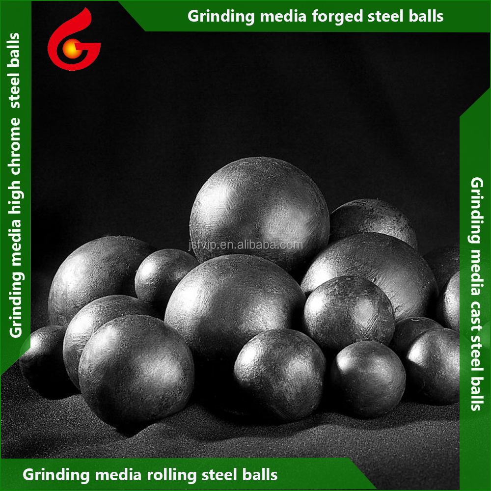 Ball mill grinding media rolling grinding steel balls for mining mill and iron ore