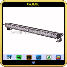 HOT selling ! 9-30V DC Waterproof IP68 100W CREE Single Row LED Offroad light bar for 4x4,Truck,Atv,SUV,4WD,Car