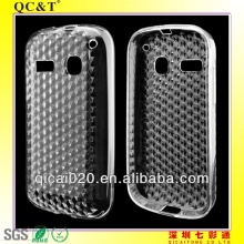 TPU mobile phone case with diamond for Alcatel POP C3