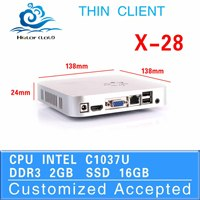 small size 1037u cheapest tablet pc x-28 fan embedded dual core motherboard mini business pc 2g ram 16g ssd linux pc