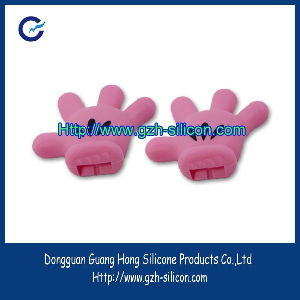 Customized silicone rubber finger sleeve made in Guangdong