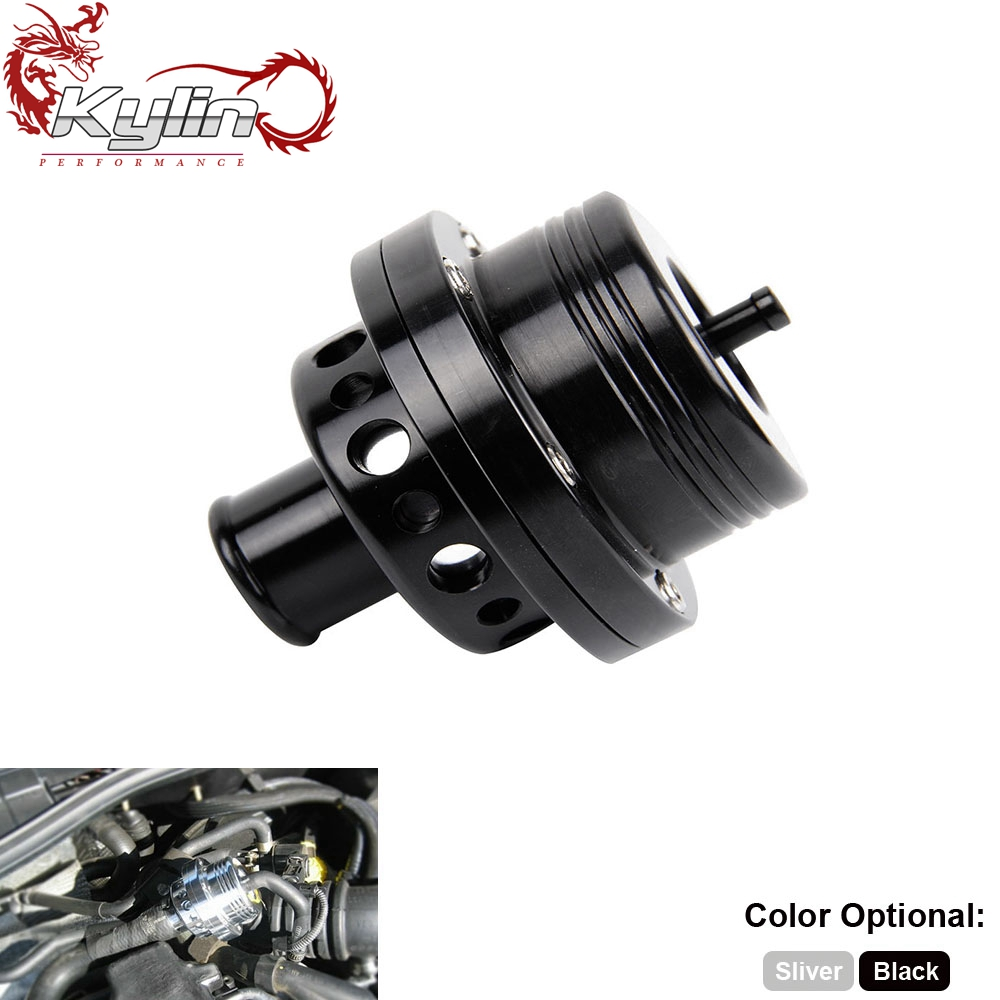 Ryanstar Racing 25mm <strong>Black</strong> Dual Piston <strong>BOV</strong> blow off valve for VW Golf MK4 Jetta A4 B5