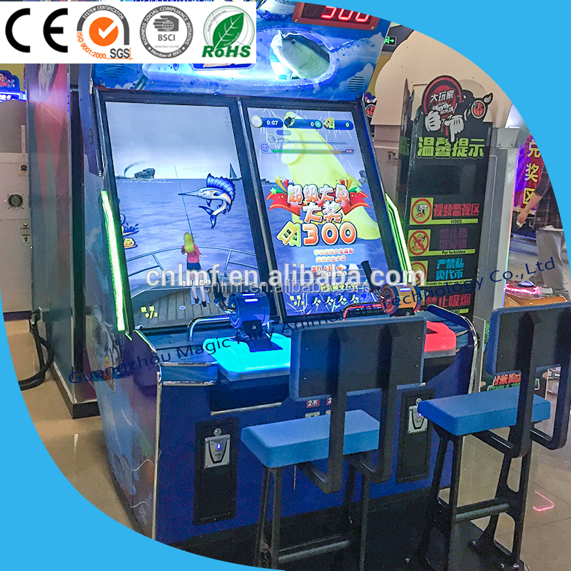 Europe and the United States the most popular arcade fishing electronic race video game machine