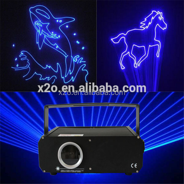 Professional rgb text laser projector with CE certificate