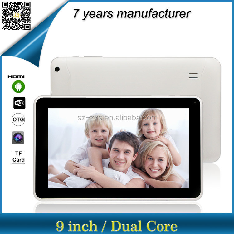 ZXS-9-W1 OEM tablet pc factory/download chinese android tablet games/android tablet without sim card