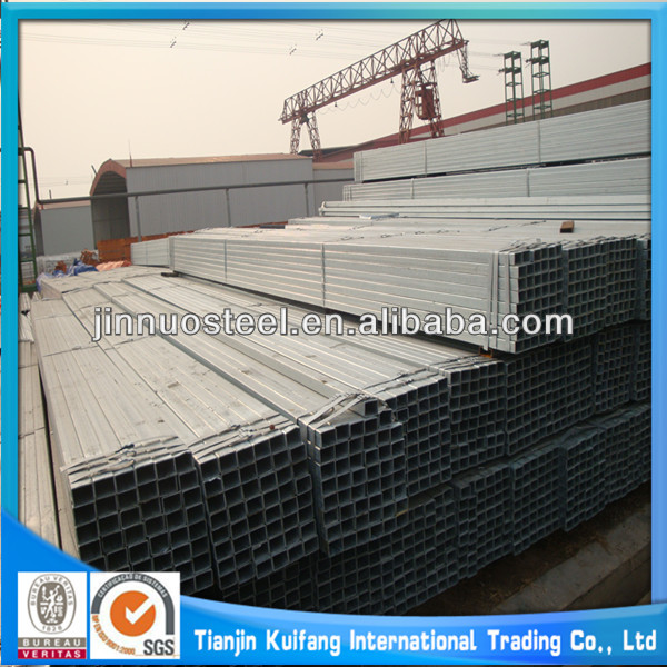 ASTM A523 hot dip galvanized square steel pipe