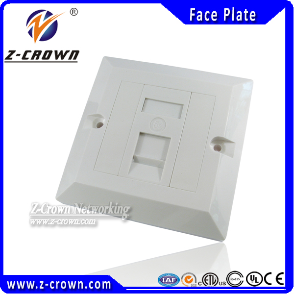 Network RJ45 Faceplate 86type 1P/2P/4P