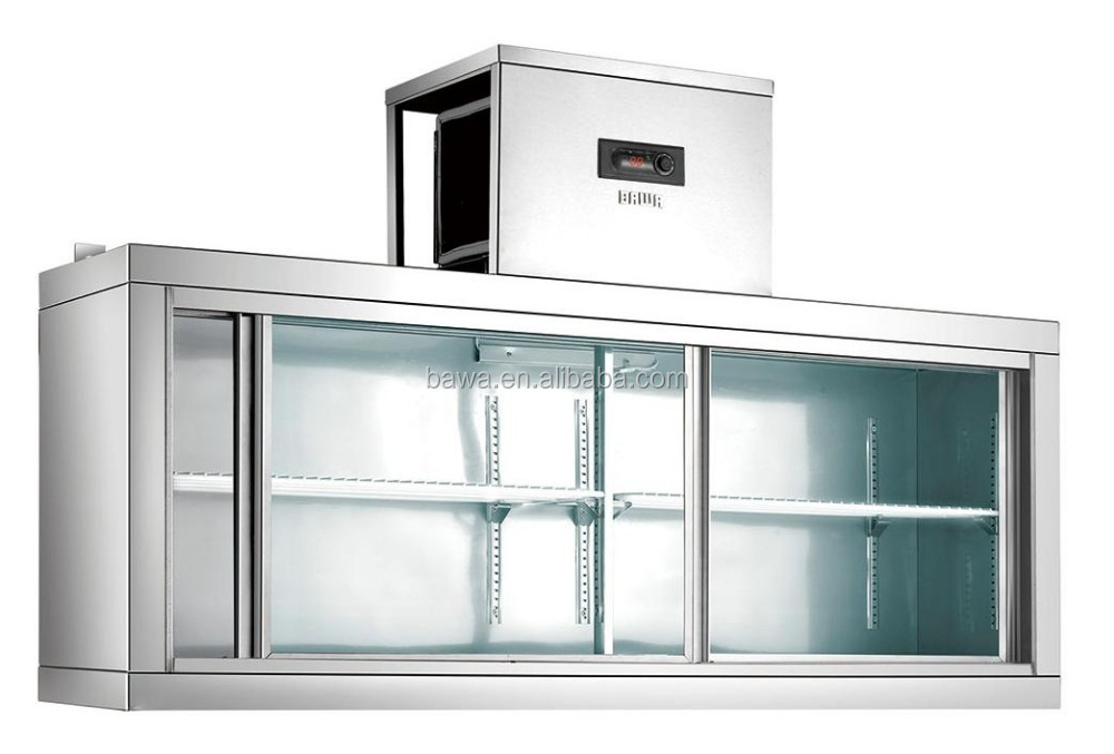 commercial stainless steel wall mounted refrigerator model WMC-18