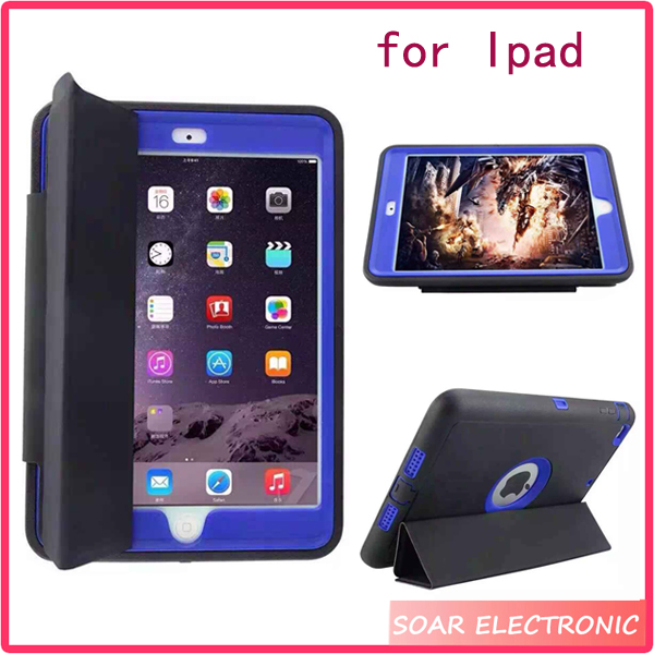 For Aple for iPad tablets case ,shock proof tablets case for ipad air 2