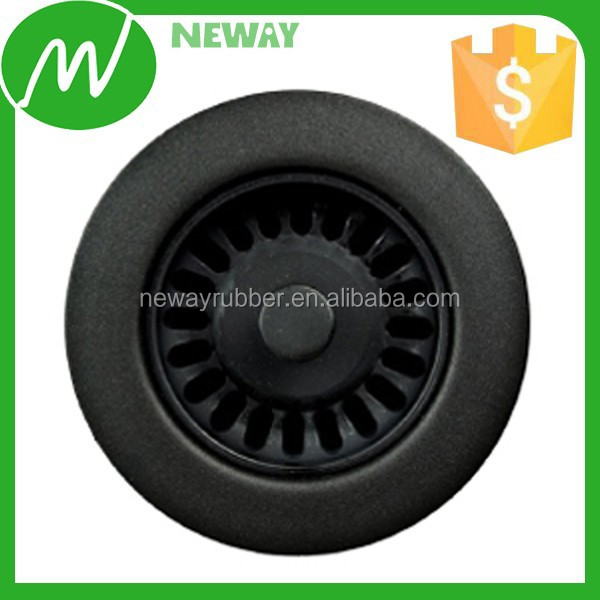 Push Down Pop Up Design Plastic Drain Cover