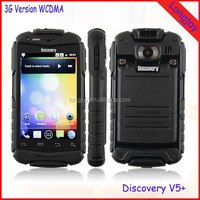 Cheap 3G Rugged IP67 Waterproof Android 4.2.2 Smartphone Discovery V5+ MTK6572 Dual Core Dual Sim 4GB ROM