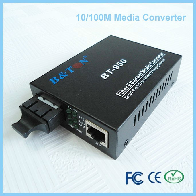 10/100M rf to optical converter