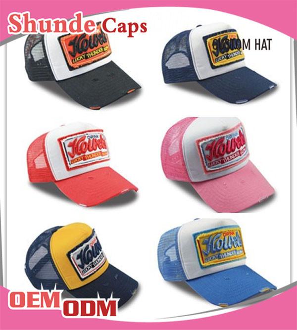 Wholesale Promotional Embroidered Baseball Cap Hat/custom Baseball Cap ...