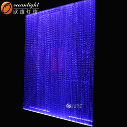 Fiber optic curtains,fiber optic rope light OM956