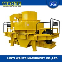 Linyi Wante VSI series high efficiency vertical shaft impact crusher,sand making machine for sale