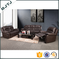 BJTJ extra large wholesale discount reclining sectional sofa 70363