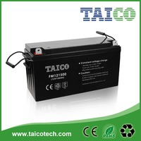 Manufacture Sealed Rechargeable Solar Power Battery 12v 150ah for Solar Energy
