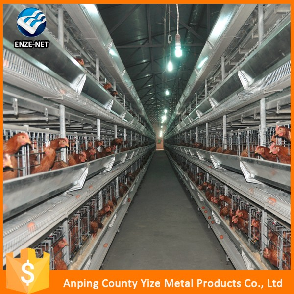 Lower price used poultry battery cages for sale/poultry house design for layers in kenya farm/chicken cage (manufacturer)