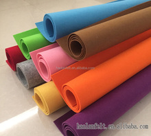 100% recycled polyester, pet felt fabric material