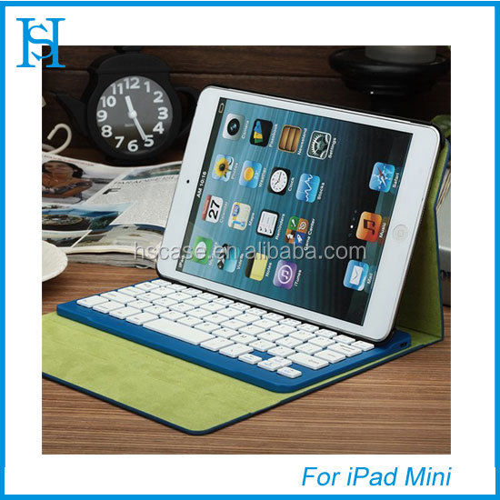 Bluetooth keyboard High quality keyboard case for ipad mini