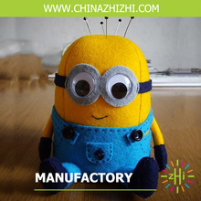 new style handmade small yellow mionion with big eyes made in china