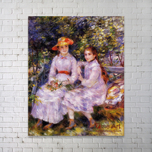 Impression famous paintings children of masterpiece reproduction