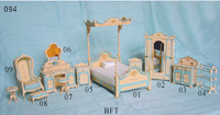 adult wooden toy furniture fine hand painted miniature dolls house