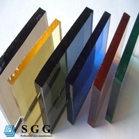 High quality factory tinted auto glass