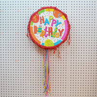 Happy birthday pinata manufacturers foldable pinata