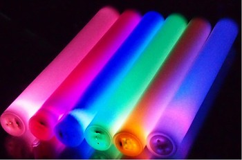 Colorful LED Foam Stick for party with 3 flashing modes