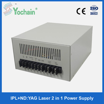 Yochain ipl and laser 2 in 1 multifunction power supply for skin