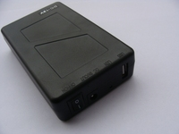 Mini UPS 9.8AH Lithium batteries small rechargeable 12v battery