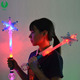 Christmas Party Light Up Snowflake Wand Toy, Glow Stick, Led Stick Toys