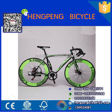 Factory direct sale front and real double disc brake 24 speed road bike