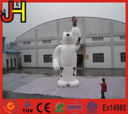 Commercial Advertising Inflatable Bear Cartoon for sale