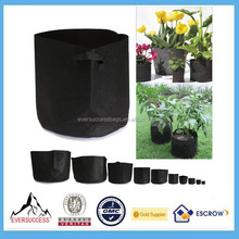 Round Fabric Grow Bags Plant Pouch Root Container Grow Bag Aeration Pot Container