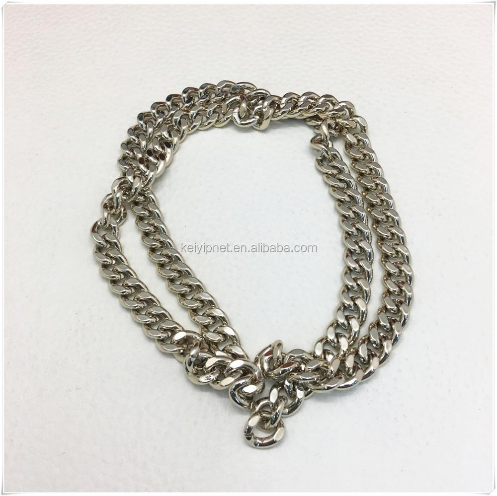 Wholesale High Quality bag accessories metal handbag chain strap