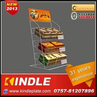 OEM/Custom Metal pvc display rack from kindle in Guangdong with 32 Years Experience and High Quality